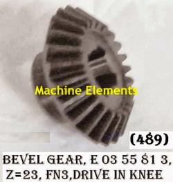 E0355813-Z23 BEVEL GEAR