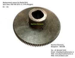 Spur Gear, R56-430-301C-4, Z=99 (Polygon