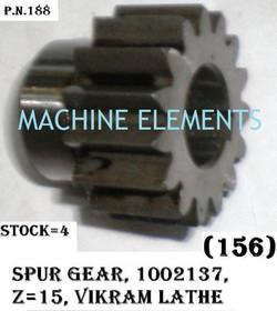 100 21 37 SPUR GEAR Z-16