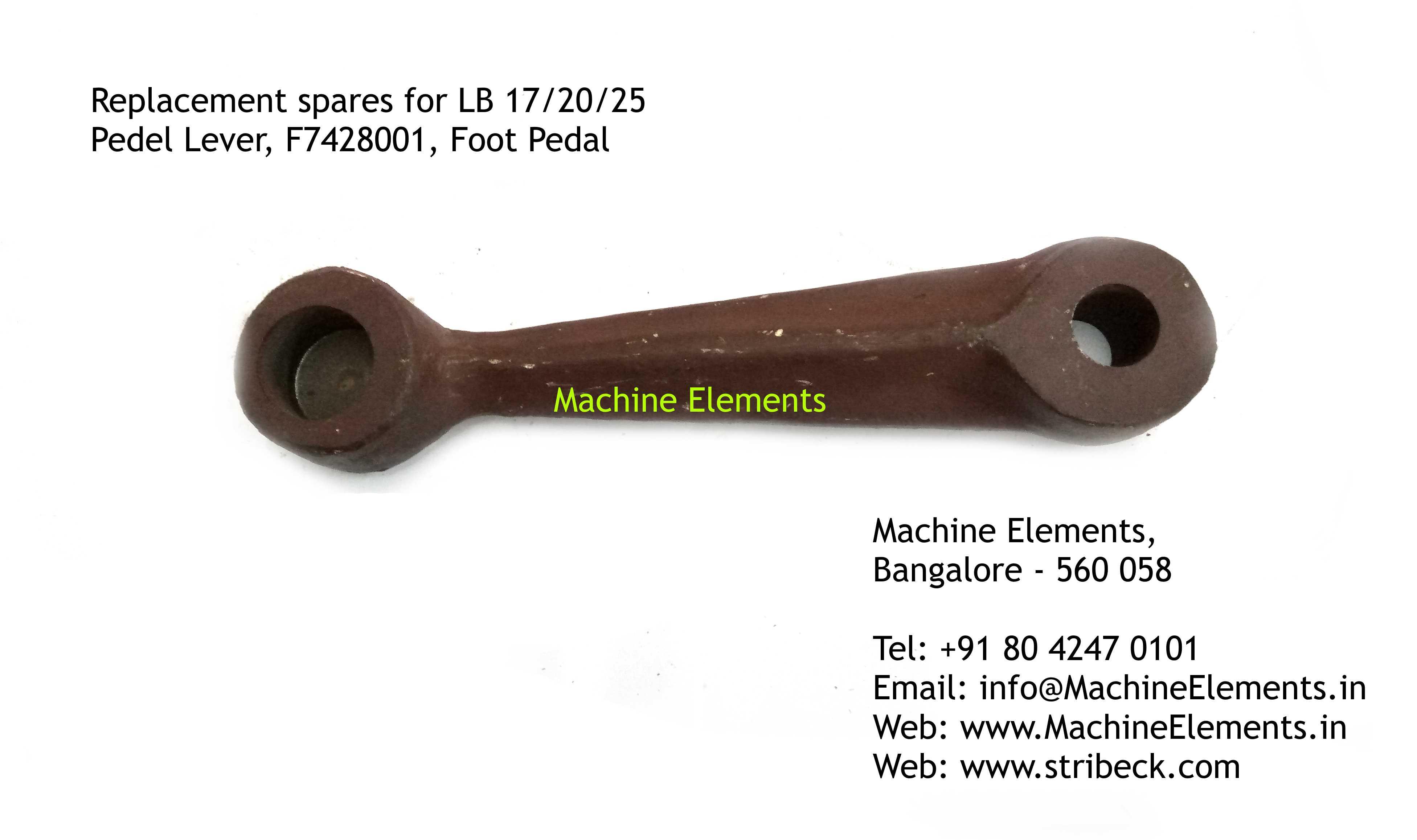 Pedel Lever F7428001, Foot Pedal