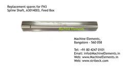 Spline Shaft, A3014003, Feed Box