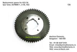 Spur Gear, D278000-1, Z=56