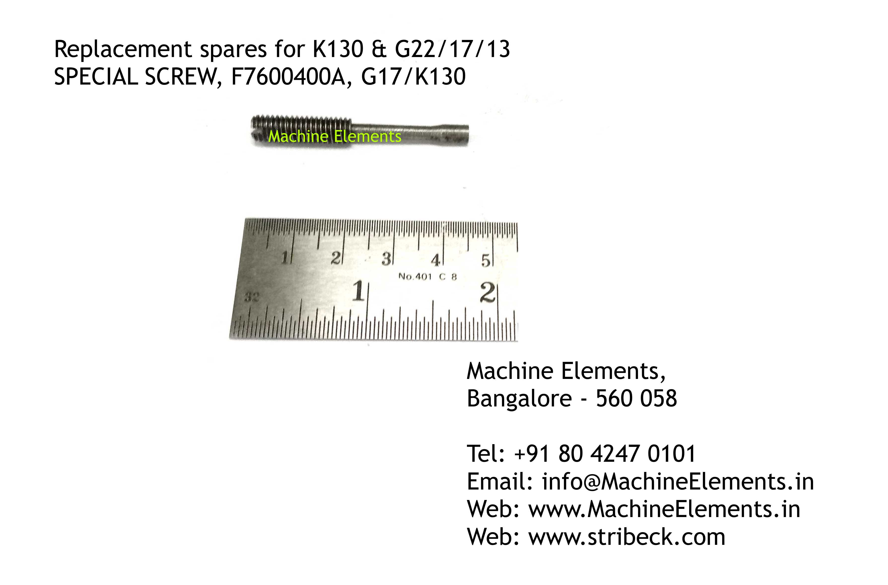 SPECIAL SCREW, F7600400A