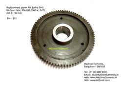 RM Spur Gear, R56-880-300D-4, Z=78 - ROU