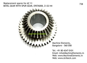 Spur gear with bevel gear Z32 + Z44.jpg