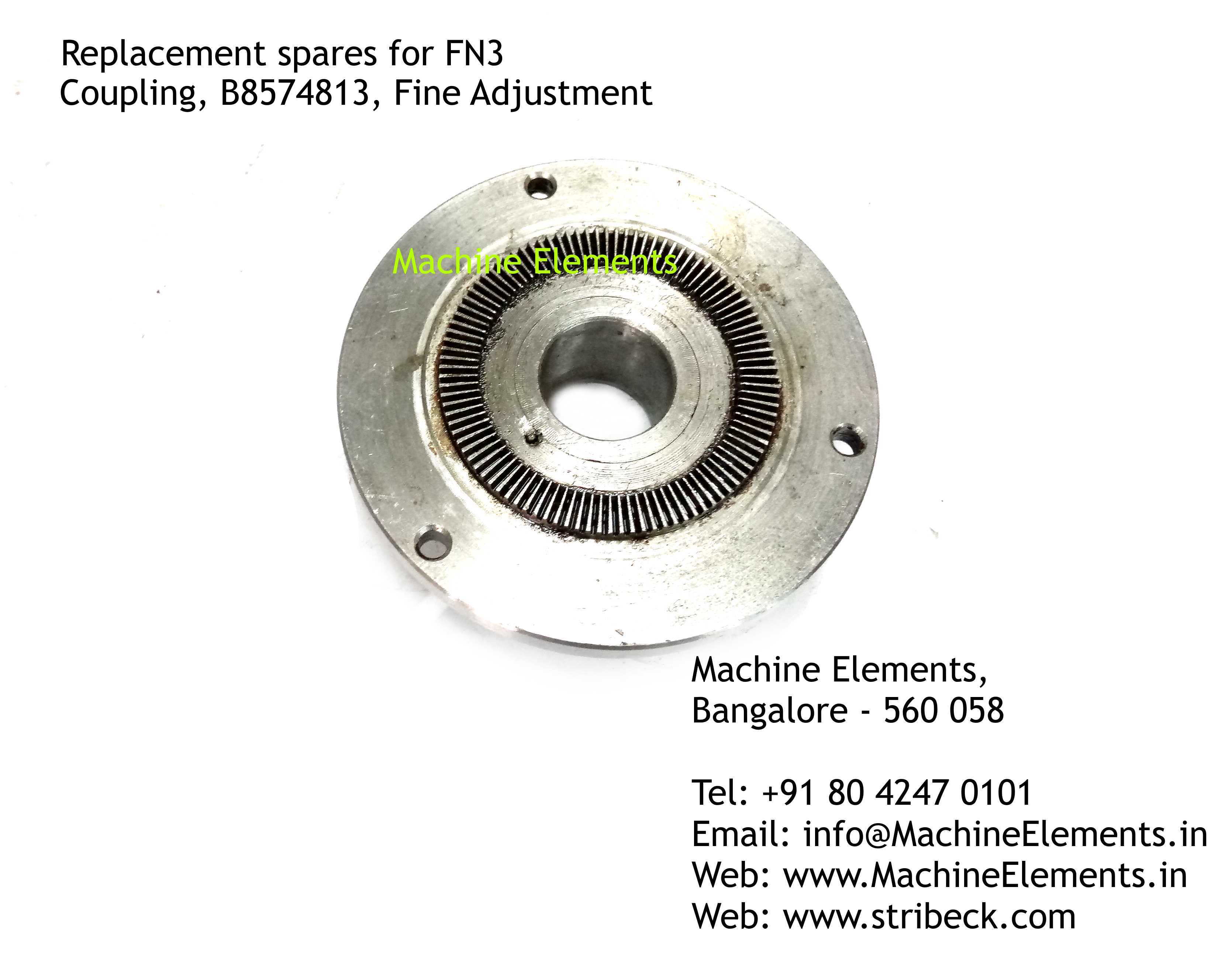 Coupling, B8574813, Fine Adjustment