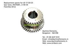 Spur Gear, D2576001 Z=40 & 30