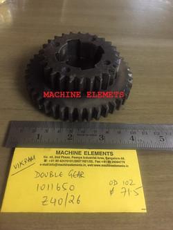 1011650  Z40 & 26 VIKRAM- DOUBLE GEAR