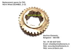 Worm Wheel, E46344803, Z=32
