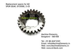 SPUR GEAR, D135500, Z=25