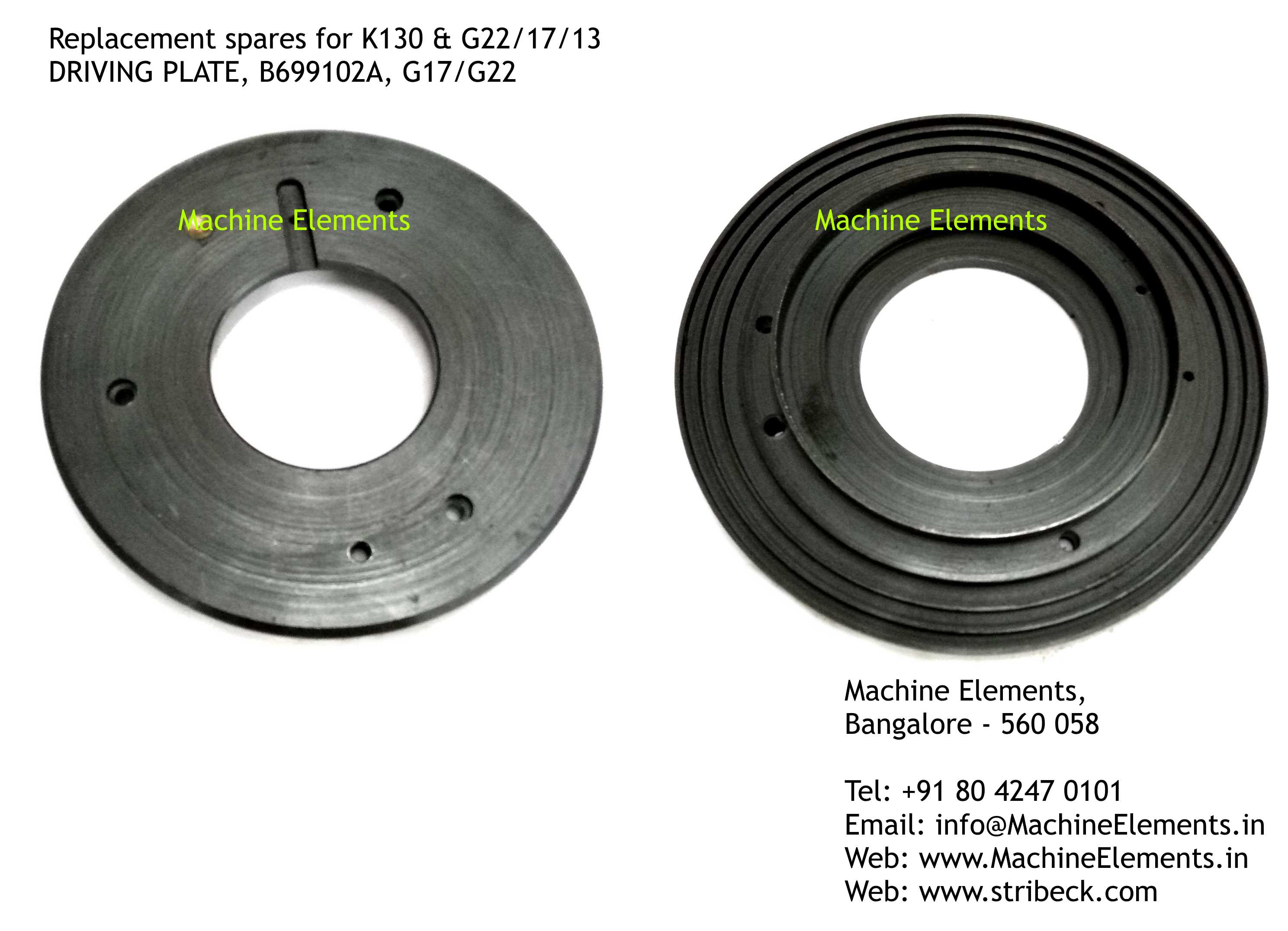 B699102A DRIVING PLATE,