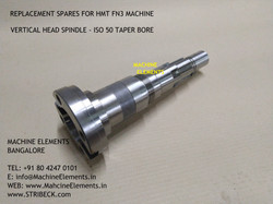 VERTICAL HEAD SPINDLE -ISO 50 TAPER BORE