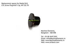 M723270 CYL SCREW PLUG