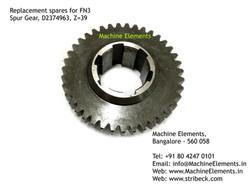 Spur Gear, D2374963, Z=39