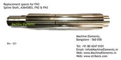 Spline Shaft, A3643003