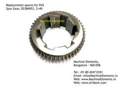 Spur Gear, D2384953, Z=49