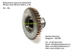 RM Spur Gear R56-210-305A-4, Z=40