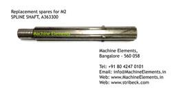 SPLINE SHAFT, A363300
