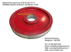 INTERNAL PULLEY, B1591241, 522-88-031, K