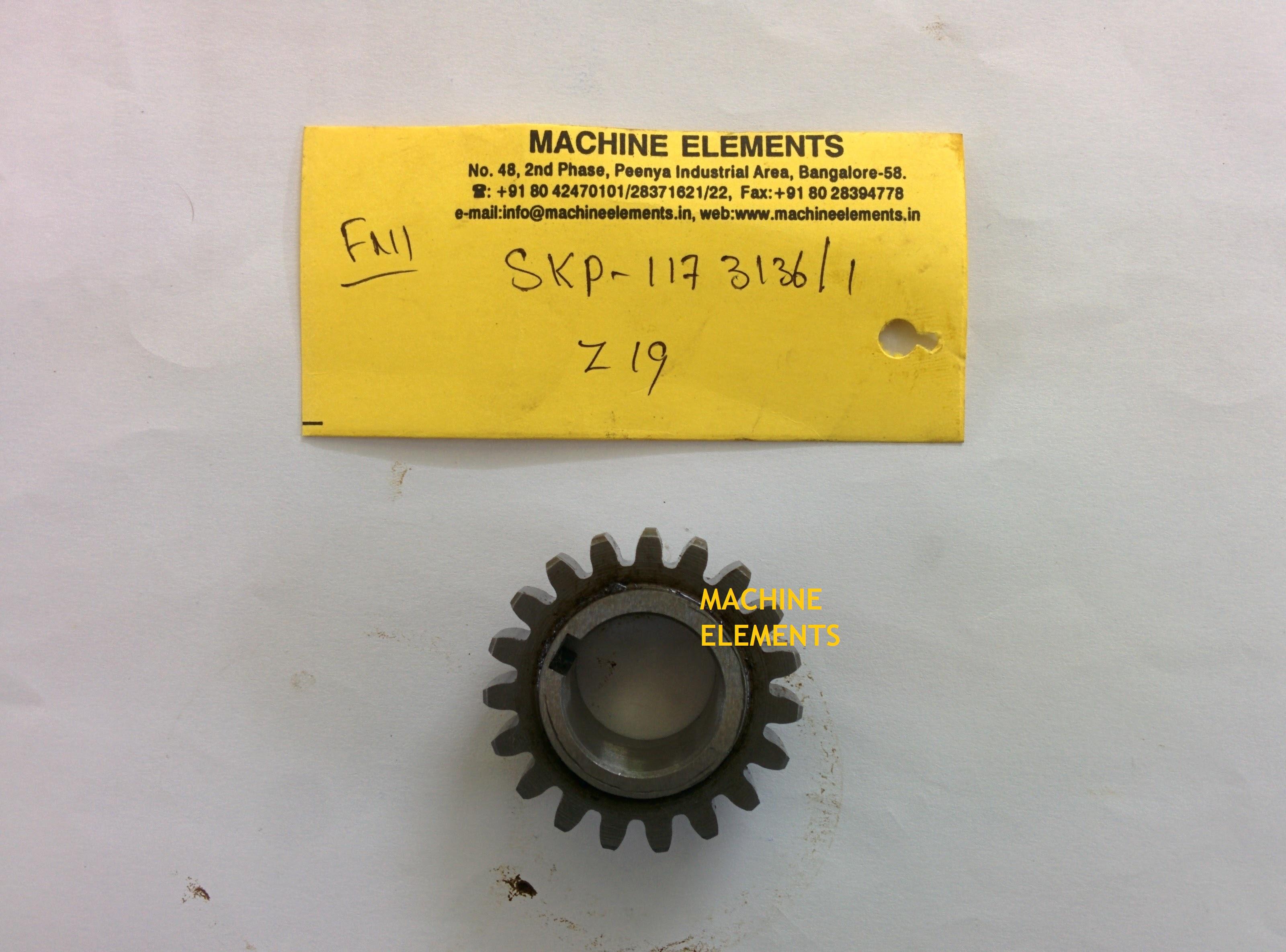 SKP 117-3136-1 Z-19 SPUR GEAR