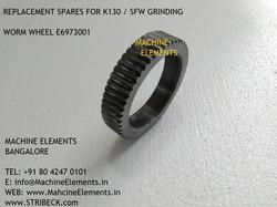 E6973001 WORM WHEEL