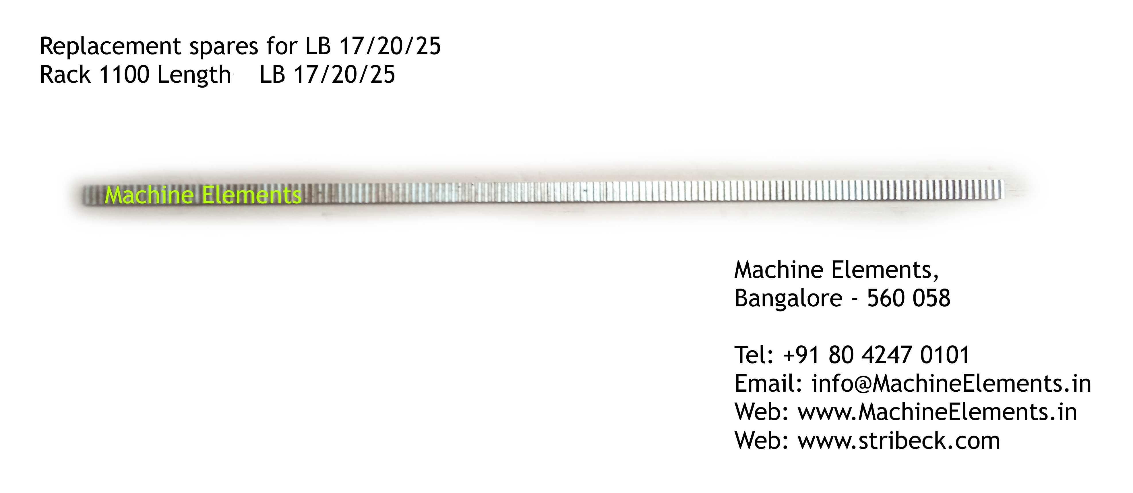Rack 1100 Length