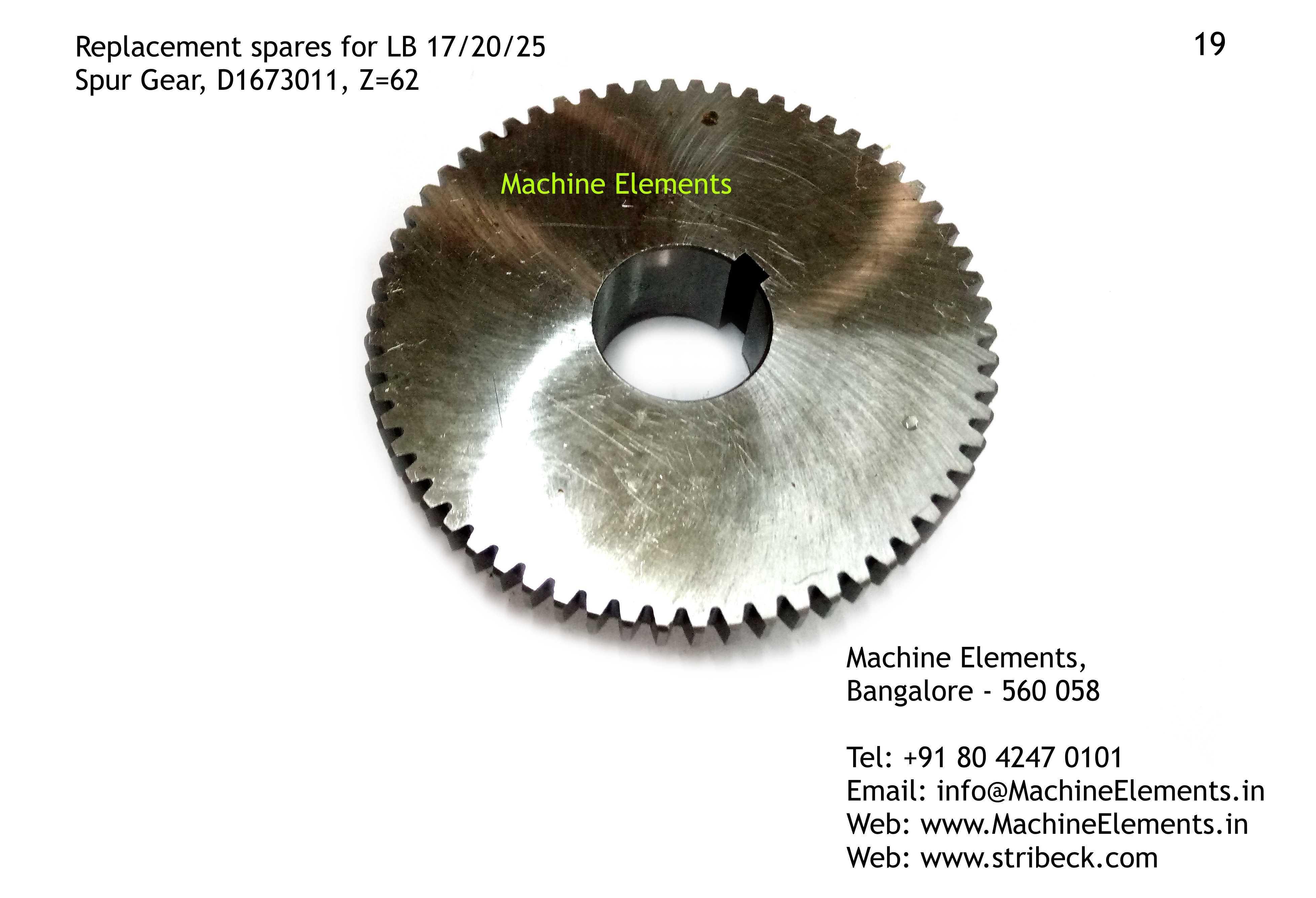 Spur Gear, D1673011