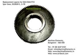 Spur Gear, D2282813, Z=78