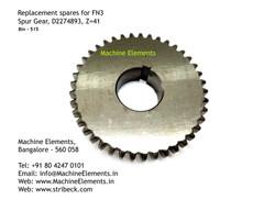 Spur Gear, D2274893, Z=41