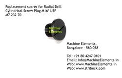 Cylindrical Screw Plug, M16 1