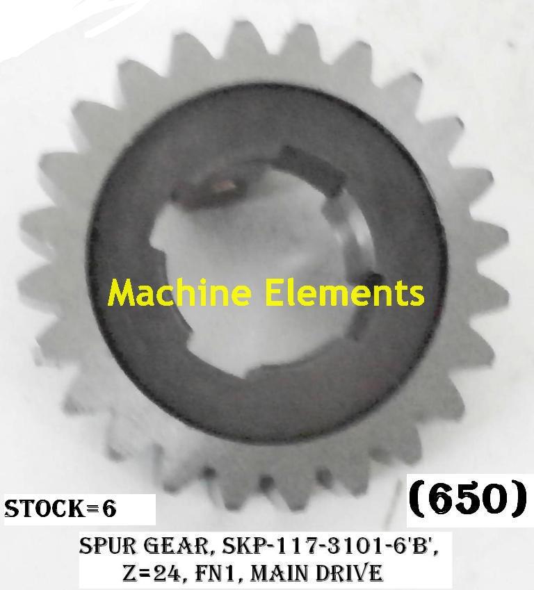 SKO-1173101-6B - Z24 SPUR GEAR