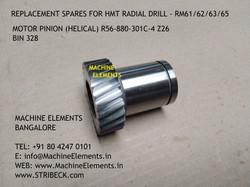 MOTOR PINION(HELICAL) R56-880-301c-4 Z26