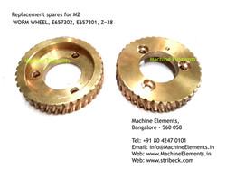 WORM WHEEL, E657302, E657301