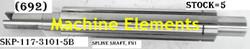 SKP-117-3101-5B- SPLINE SHAFT