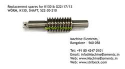 WORM 522-30-210 K130