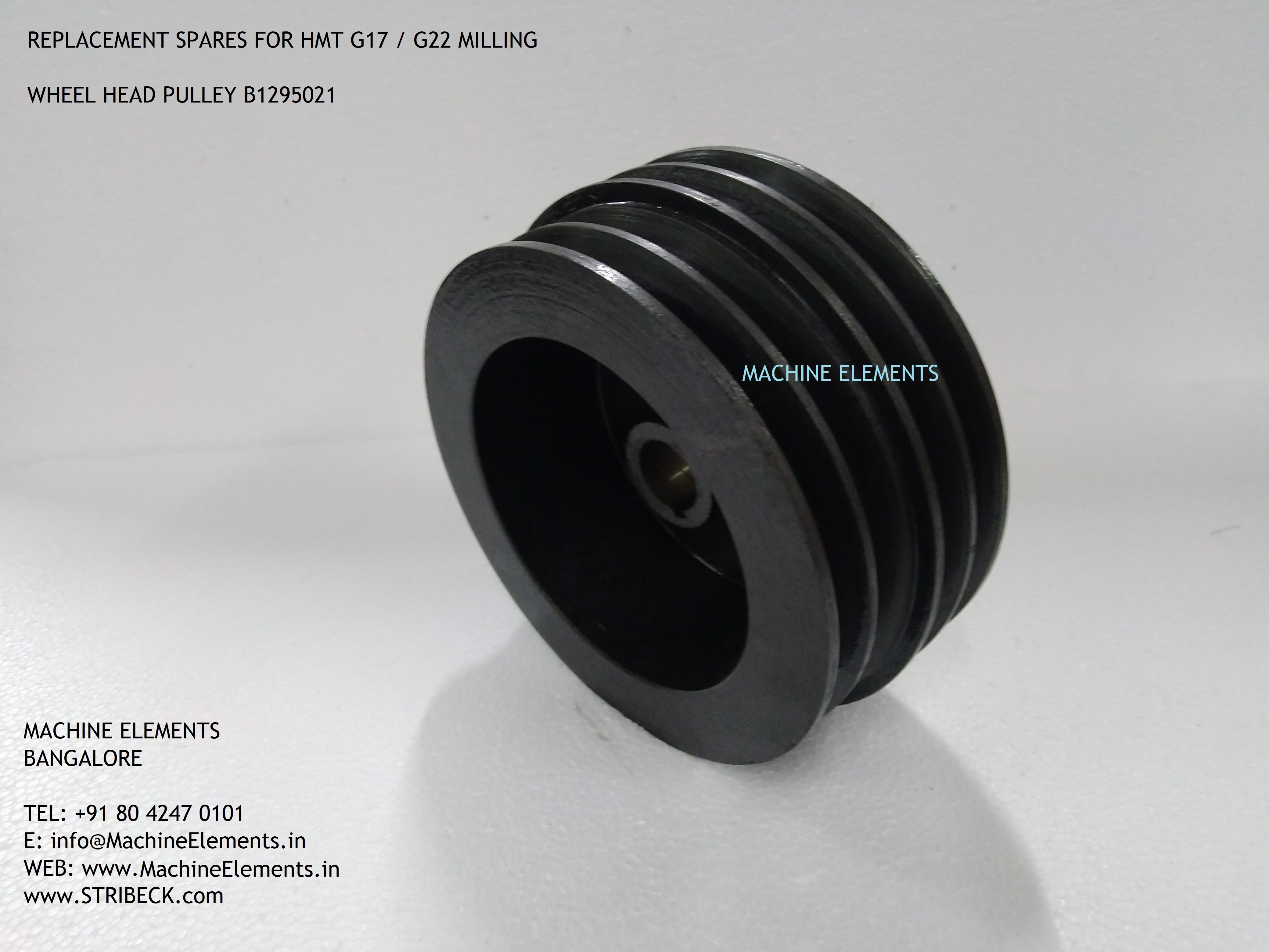 Wheel Head pulley G17 - G22 B1295021
