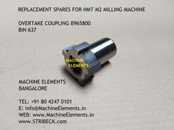 OVERTAKE COUPLING B965800 BIN 637