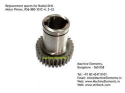 Motor Pinion, R56-880-301C-4, Z=32