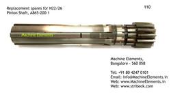 Pinion Shaft, A865200-1