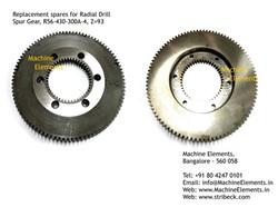 Spur Gear, R56-430-300A-4, Z=93