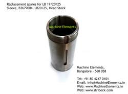 Sleeve, B3679004, Head Stock