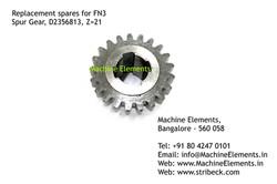 Spur Gear, D2356813, Z=21