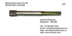 SPLINE SHAFT, A363400