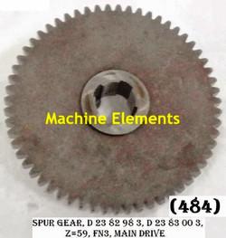 D2382983-Z59 SPUR GEAR