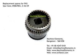 Spur Gear, D5867003