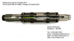 Clutch Shaft R56-431-200B-3, Polygon Thr