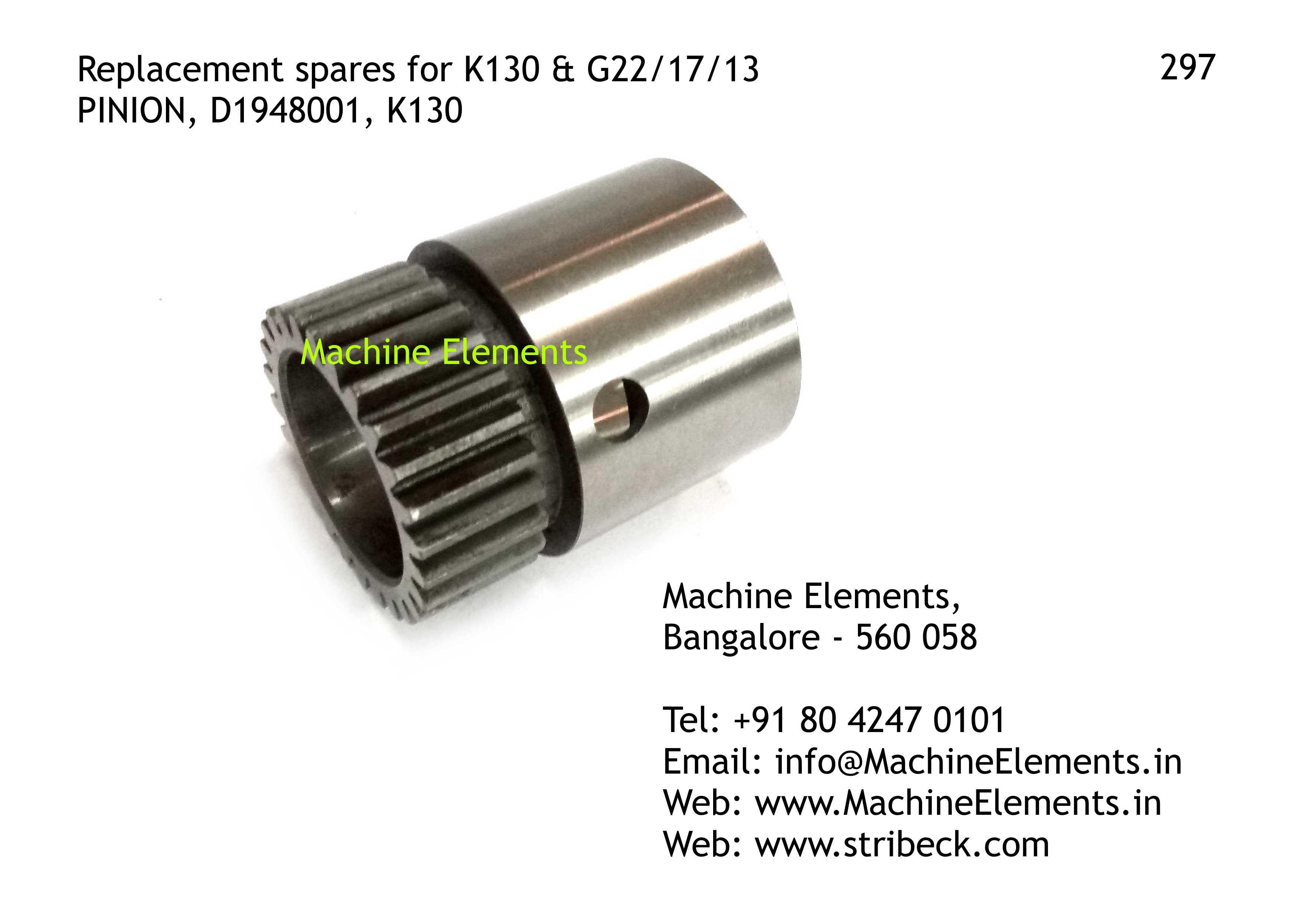 PINION, D1948001, K130