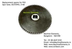 Spur Gear, D2372943, Z+60