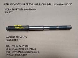 WORM SHAFT R56-091-200a-4 BIN 337