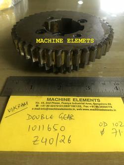 1011650  Z40 & 26 VIKRAM- DOUBLE GEAR (2